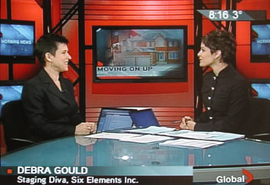 Debra Gould on Morning News