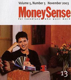 Debra Gould in Money Sense Magazine