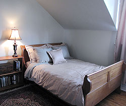 Master Bedroom completely transformed to sell by home staging expert Debra Gould