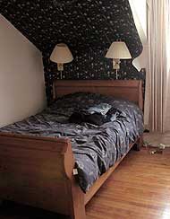 This master bedroom was terrible before being staged to sell by Debra Gould, AKA The Staging Diva.